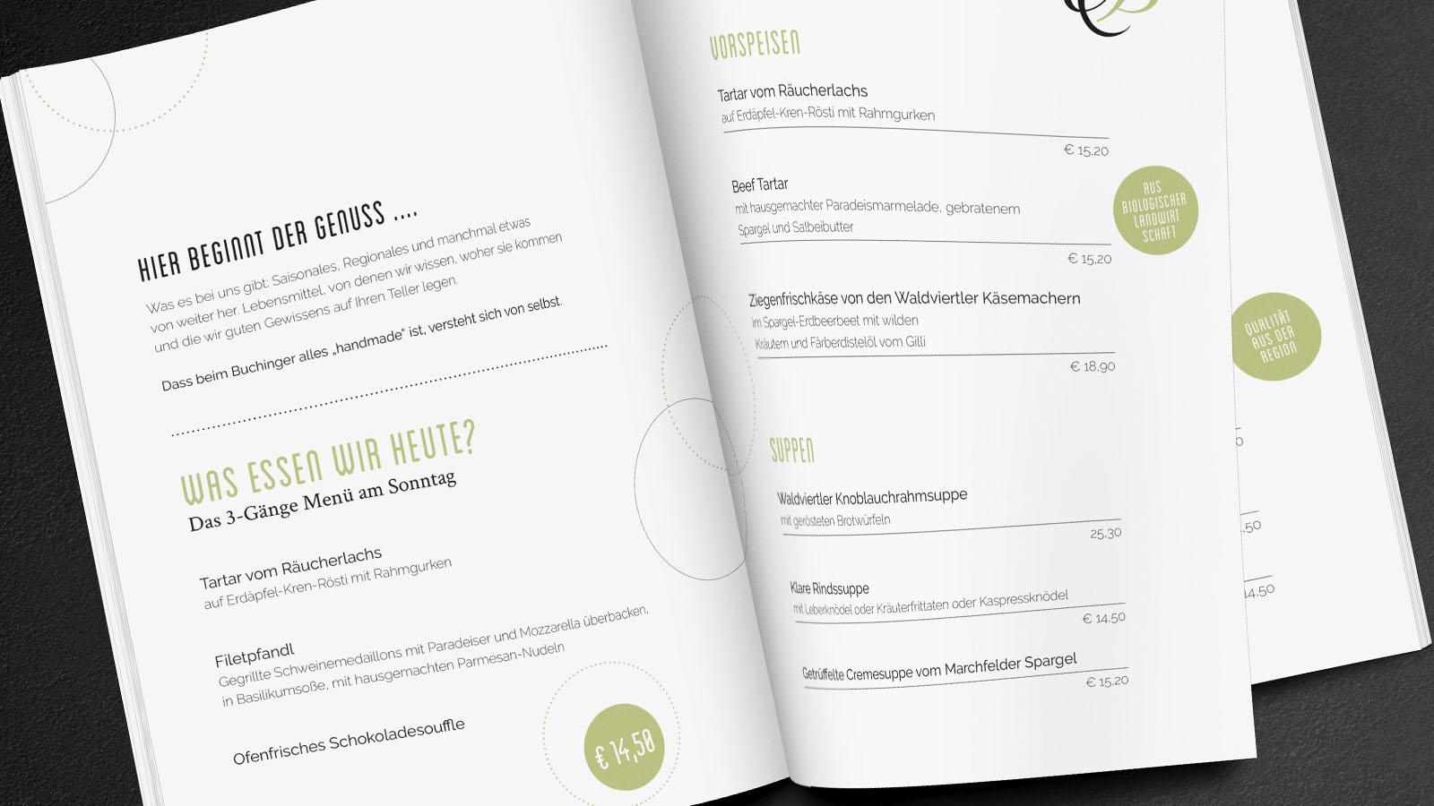 Speisekarte, Mock Up: © graphicburger.com