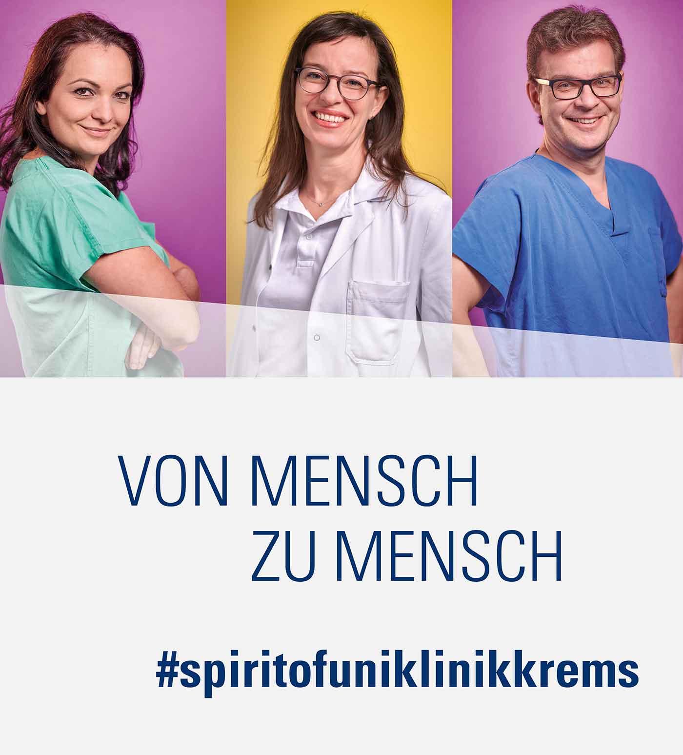 Tolle Atmosphäre im Universitätsklinikum Krems